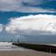 Strekdam in de zee bij Domburg