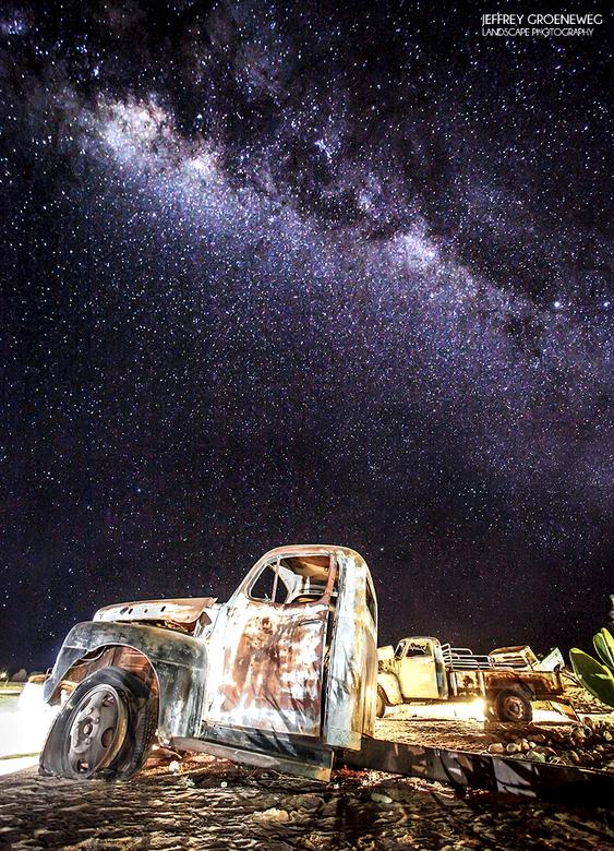Melkweg boven Solitaire