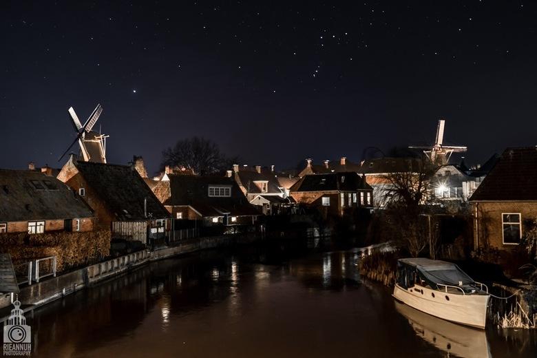 Heldere sterrenhemel Winsum