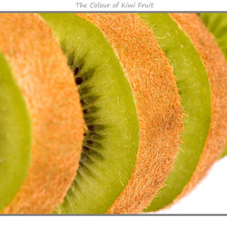 The Colour of Kiwi Fruit