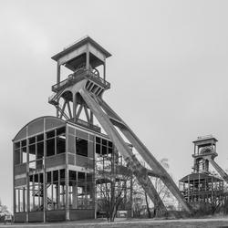 Mijntorens bij Maasmechelen