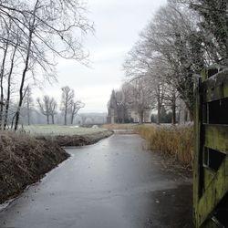 winter op landgoed Maequette