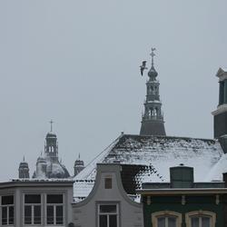 Sint Jans toren in de winter