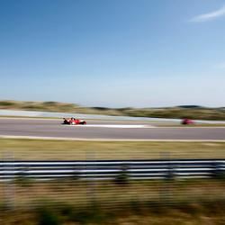 Ferrari F1 in motion
