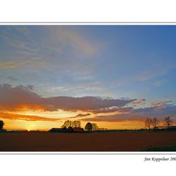 Biesbosch sunset