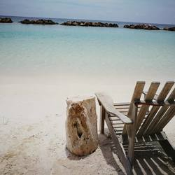 Relaxing beachday at Curacao!