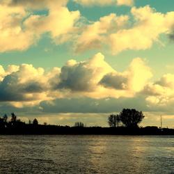 Wolken luchten vandaag.