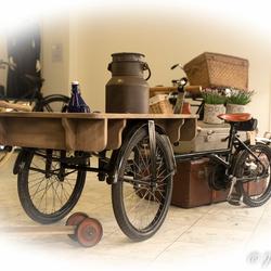 fietsen verzamelaar (hobbyist te Ommen )