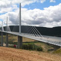De brug van Millau, je blijft je verbazen