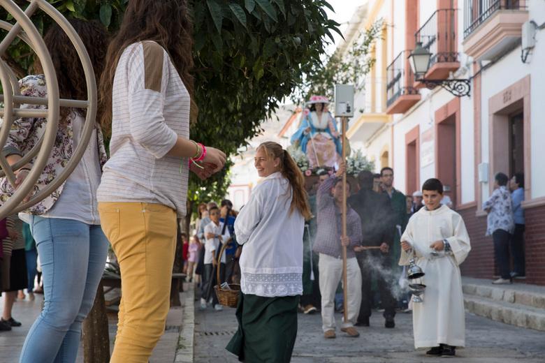 Processie in Andalusië - Ik dacht dat ik deze al eens eerder had geüpload. Ik werd er aan herinnerd door de SNP Fotoreis...<br /> <br /> In het Zuid