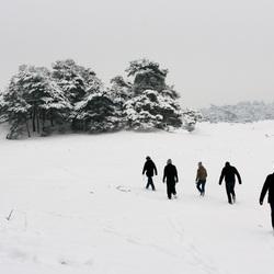 Wekeromse Zand met sneeuw 2