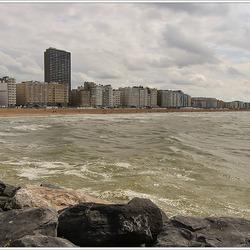 Oostende aan zee