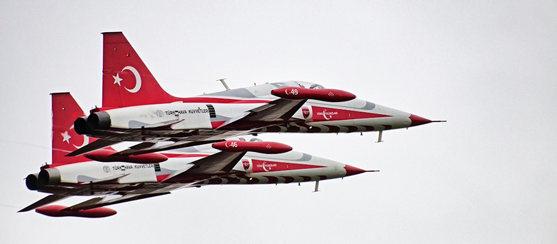 Turkish Stars F5 - De F5 Jets van Turkish Stars, Luchtmachtdagen 2016