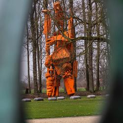 Beeld in beeldentuin kasteel het Nijenhuis te Wijhe