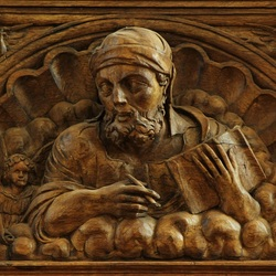 Marcus in Wood carving...