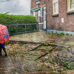 Hagel en regen