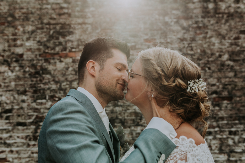 WEDDING OF J + W