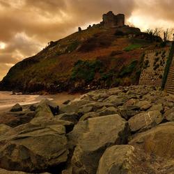 A welsh castle.