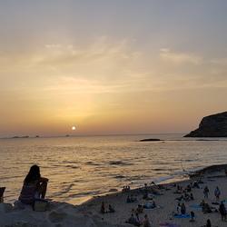 Zonsondergang Ibiza. Sunset Ashram