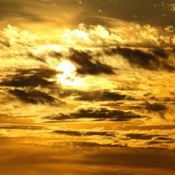 zonsondergang boven utrechtse heuvelrug