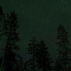 Sterrenhemel in Lapland
