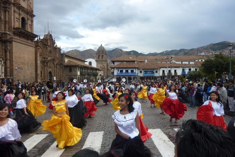 Processie Cusco Peru