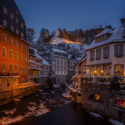 Cold evening in Monschau