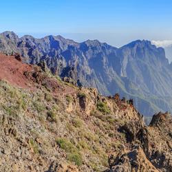 vulkaantop op La Palma