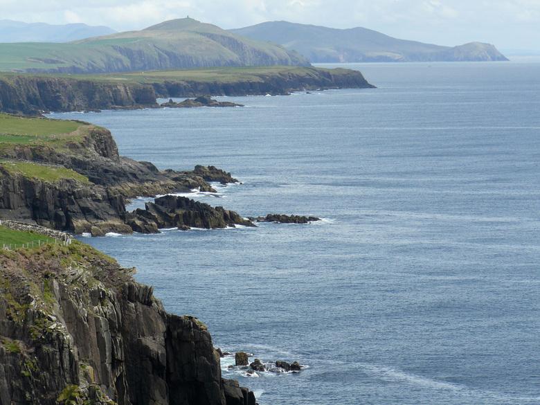 Kliffen op Dingle -