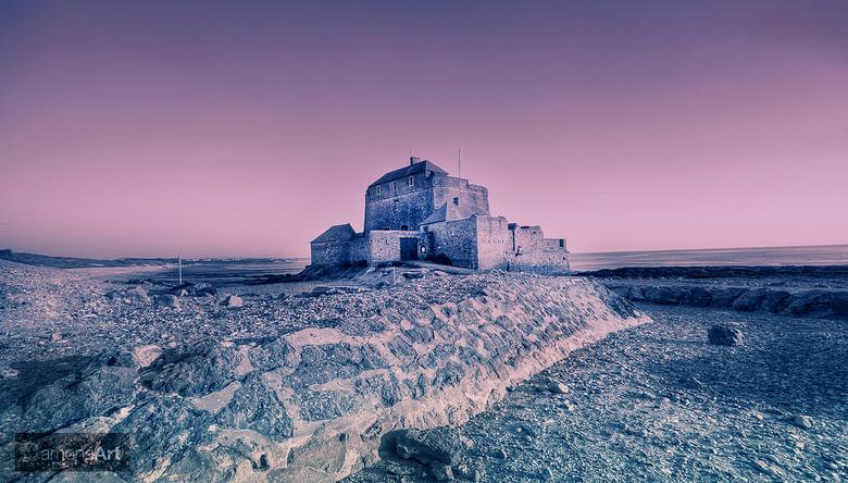 Fort L'ambleteuse - Dit is er weer eentje van  mijn uitstap naar de Opaalkust overlaatst. was eigenlijk niet het ideale weertje om sublieme foto'