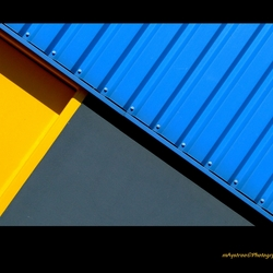 blue,yellow and grey