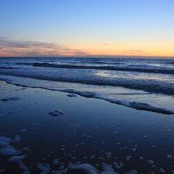 Ter Heide zonsondergang