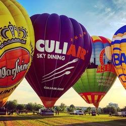Luchtballonnen op een rijtje
