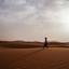 Marokko woestijn in de morgen