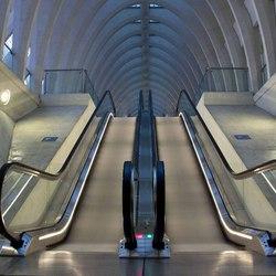Gare Guillemins 's avonds