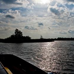 dagje op het water in Giethoorn