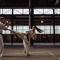 Zoom bootcamp - Karate Actie