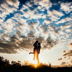 Liefde bij zonsondergang
