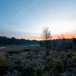 Zonsondergang in Gerhagen
