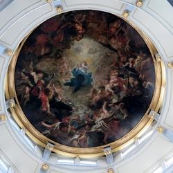 Onze-Lieve-Vrouwekathedraal plafondschildering
