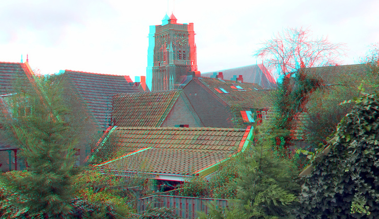 Woudrichem 3D - Woudrichem 3D<br /> anaglyph stereo red-cyan