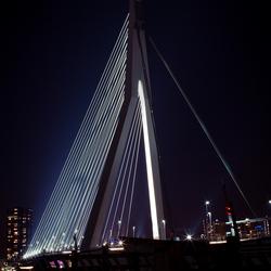 Erasmusbrug at night