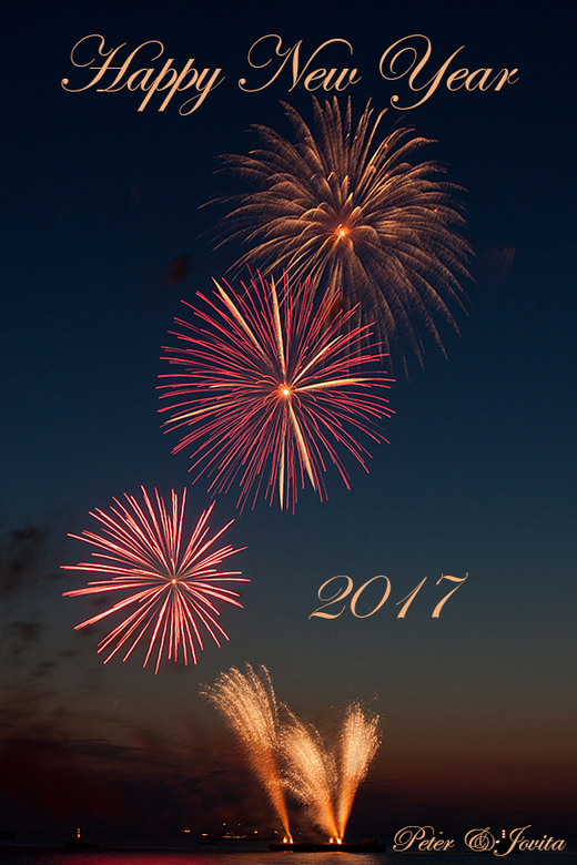 Fijne jaarwisseling - Iedereen alvast een hele fijne jaarwisseling toegewenst en een gezond en fotorijk 2017.<br /> Wees voorzichtig met vuurwerk <im