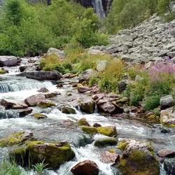 Waterval Njupeskär (Zweden)