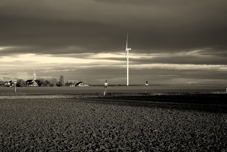 Kaal - Kale landschap.