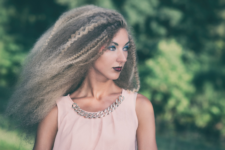 BIG Hair Shoot Merlin - Model: Merlin<br /> MUA: Lianne Dierkes