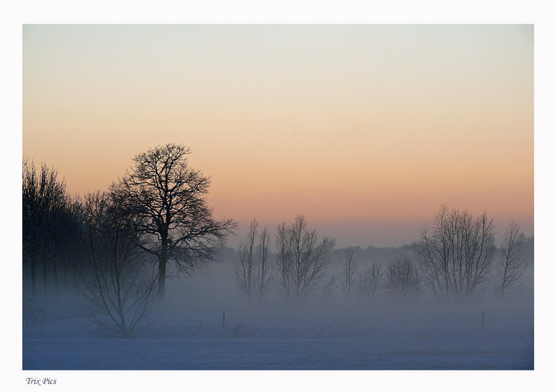 Brabants Sneeuwlandschap - Nog één voor de fotowedstrijd ééntje uit het archief.<br /> Bedankt voor jullie reacties op mijn vorige foto.<br /> Gr.Pa