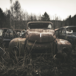 Roestige Volvo