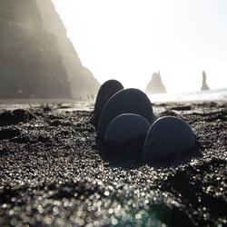 IJsland Black Sand Beach