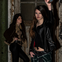 Urban shoot met modellen